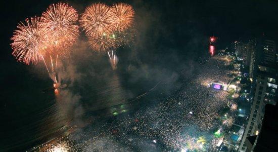 Confira como foi a virada do ano na Região Metropolitana do Recife