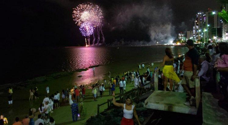 Festa da virada em Olinda