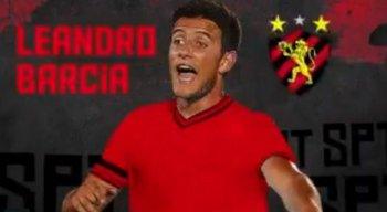 Barcía foi anunciado pelo Sport na manhã desta quinta-feira