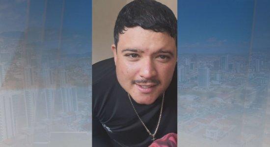 Hiago Anderson, 24 anos, estava com a família quando sofreu acidente com fogos