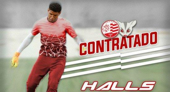 Náutico anuncia a contratação do goleiro Halls
