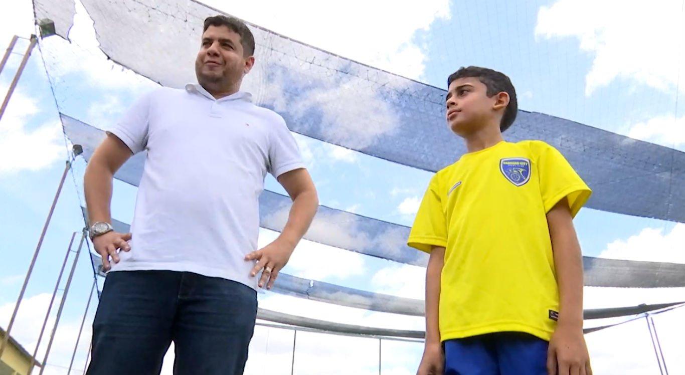 Família de Guilherme é grande incentivadora dos voos dele