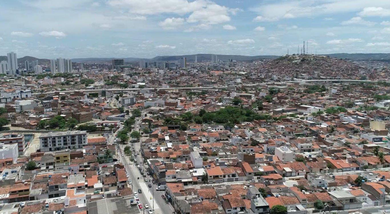 Cidade de Caruaru do alto