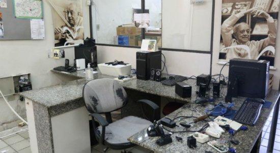 Polícia investiga furto ao Centro de Documentação Dom Helder Câmara