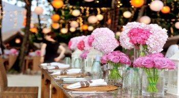Vasos são os novos protagonistas das decorações de casamentos