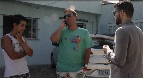 Casal diz ter sido vítima de homofobia e agredido por policial militar
