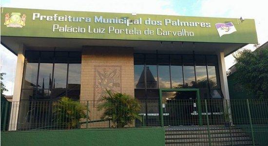 Prefeitura de Palmares abre seleção com salários de até R$ 7 mil