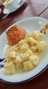 Opção no restaurante Beijupirá