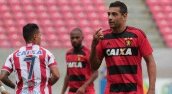 Maior parte da torcida do Sport deseja o retorno de Diego Souza