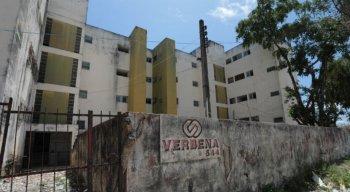 O Edifício Verbena fica na Rua Manoel Carvalhau e tem 24 apartamentos ocupados