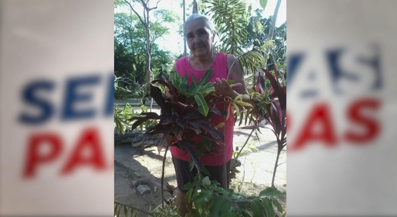 Maria das Graças Salino de Oliveira Araújo, 68 anos, morreu após ser vítima de espancamento