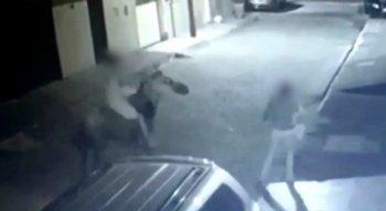 O crime aconteceu na Rua Severino Ribeiro, no Bairro Novo