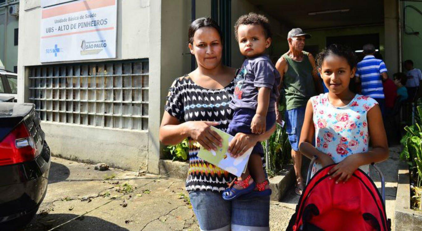 Em São Paulo, algumas unidades de saúde tinham disponibilidade da pentavalente e da DTP