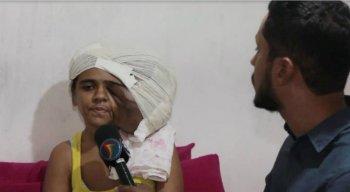 Taís busca retirar o tumor da cabeça há dois anos