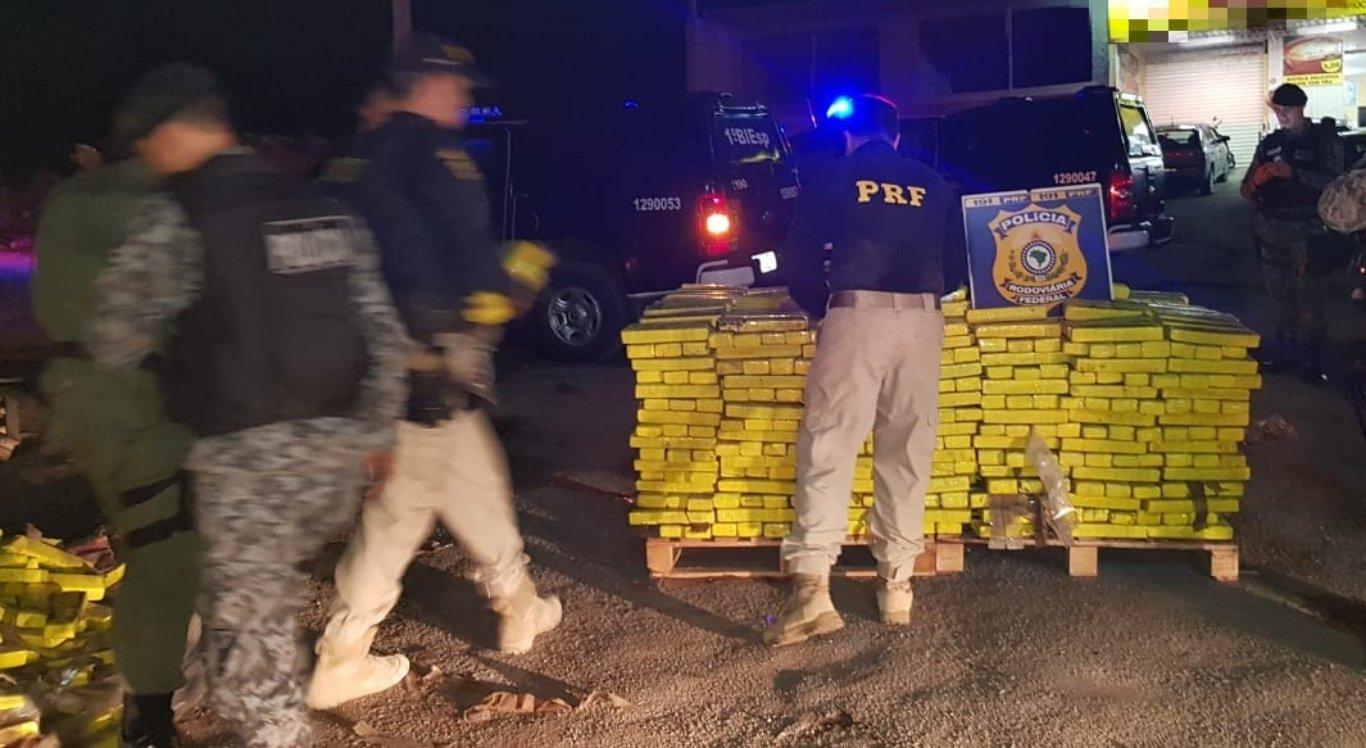 PRF apreendeu mais de 9 toneladas de droga em 2019