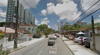 Rua Carlos Gomes, no bairro do Prado