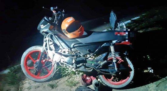 Motociclista morreu no acidente em Garanhuns