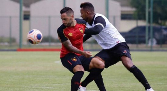Sport empata em 0x0 contra o Botafogo-PB em jogo-treino