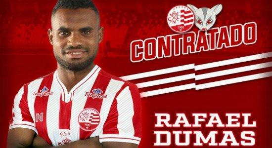 Náutico oficializa contratação do zagueiro Rafael Dumas