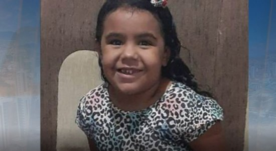 Ana Cecília, de quatro anos, morreu após ser atropelada