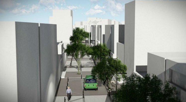 Imagem do projeto da Rua São Sebastião