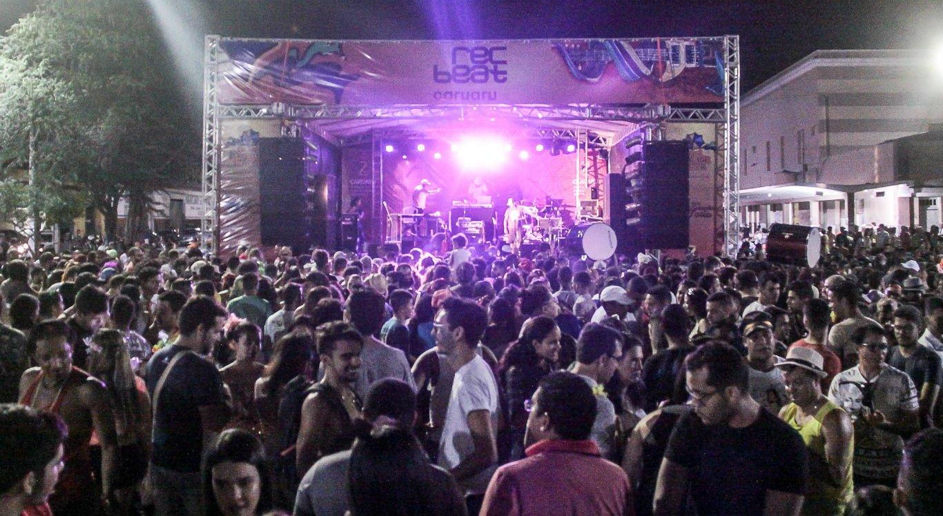 Festival Rec-Beat é realizado na Estação Ferroviária, em Caruaru