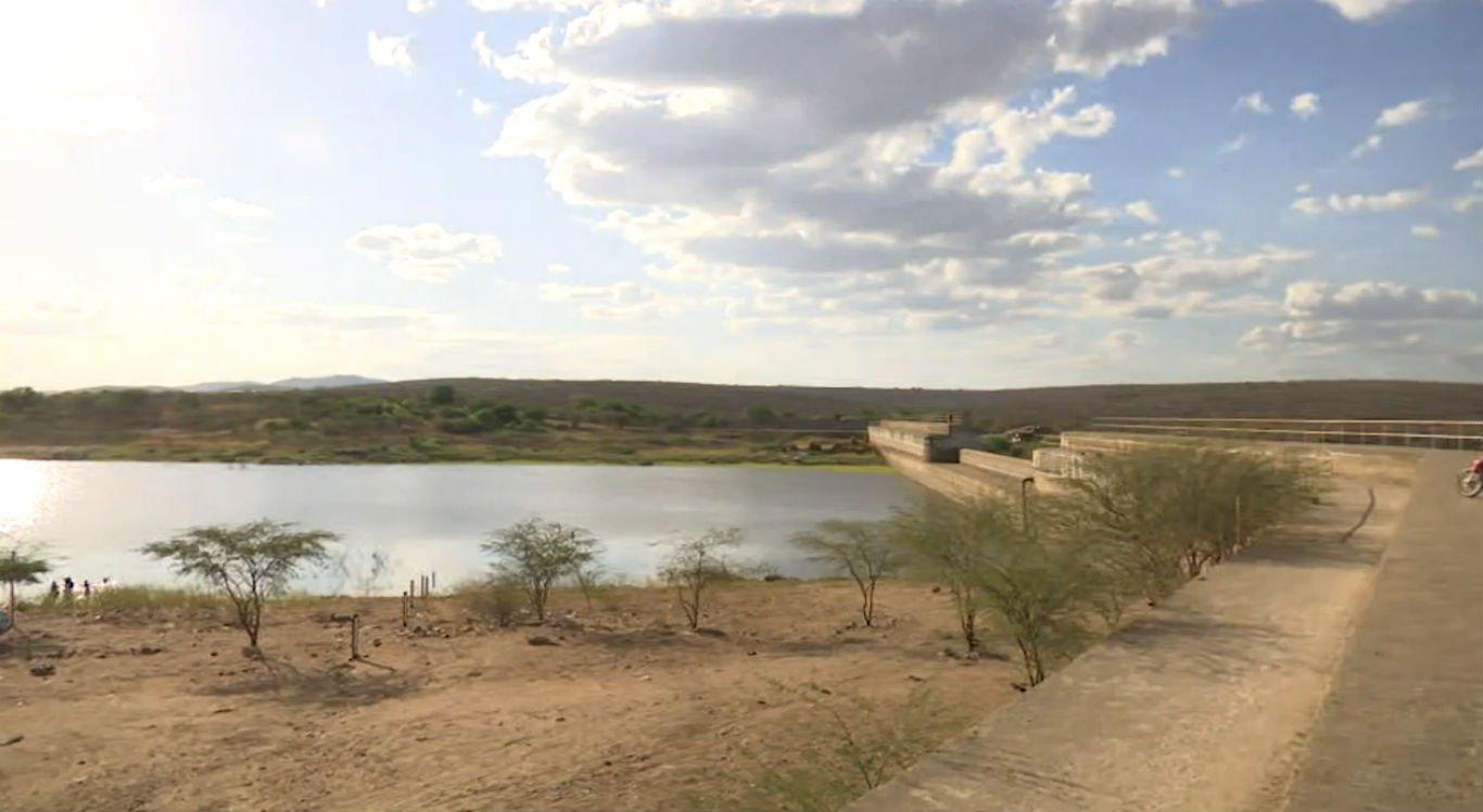 Barragem do Machado está com apenas 8% da capacidade