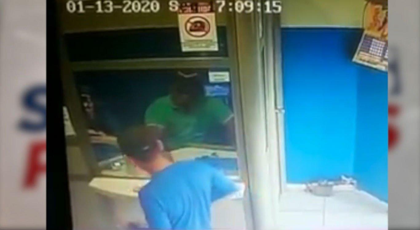Homem armado assaltou lotérica no centro de Brejo da Madre de Deus