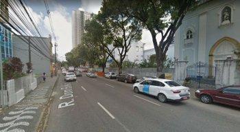O trecho da Rua Dom Bosco terá o estacionamento ordenado