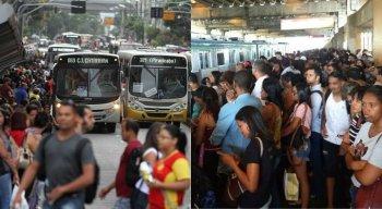 O resultado da pesquisa apontou o Recife como um dos piores locais em relação ao transporte público