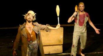 O espetáculo tem direção e encenação de Quiercles Santana