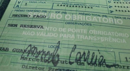 De acordo com a seguradora Líder, mais de 100 mil veículos estão aptos a receber o pagamento da restituição em Pernambuco