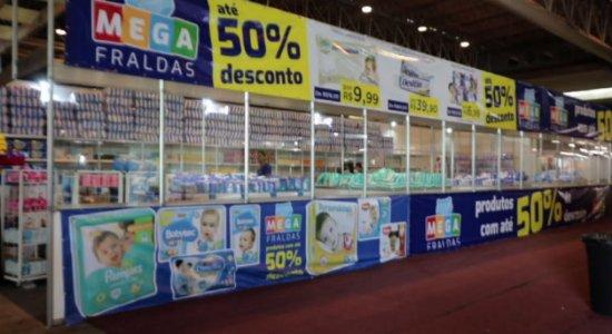 Feira para gestantes oferece produtos a partir de menos de R$1,00