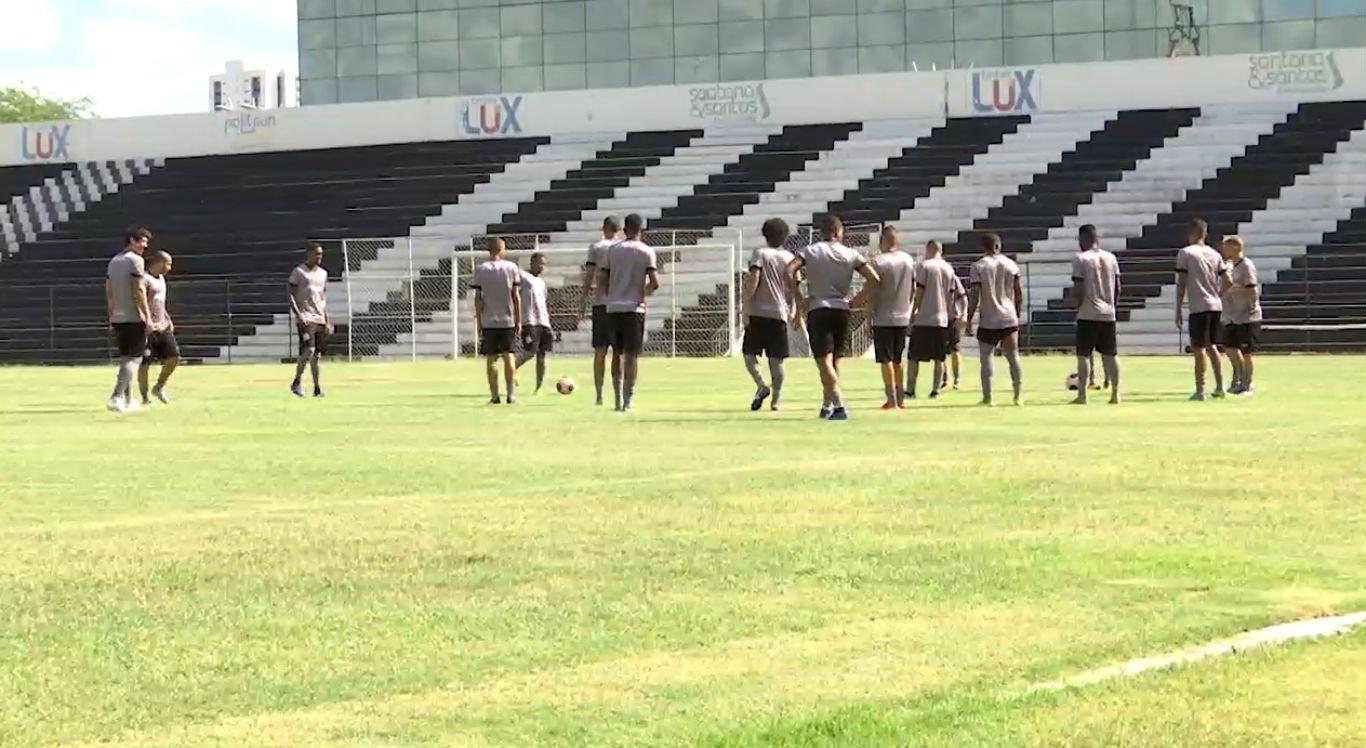Central realiza treinos na pré-temporada