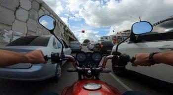 Motociclistas são os mais vulneráveis no trânsito