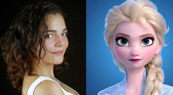 A atriz Andrea Arruti era a voz de Elsa na versão espanhola da América Latina