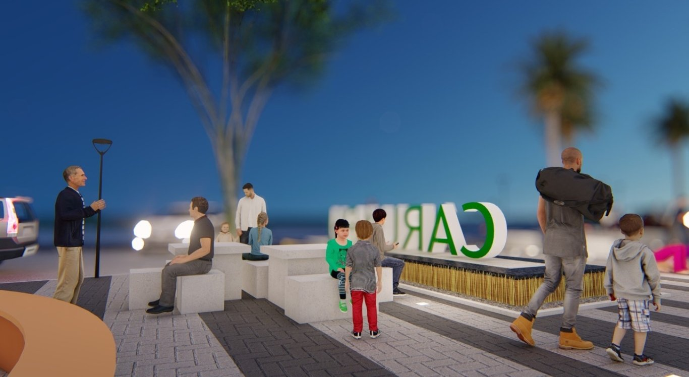 Prefeitura de Caruaru revitaliza área de convivência no centro da cidade