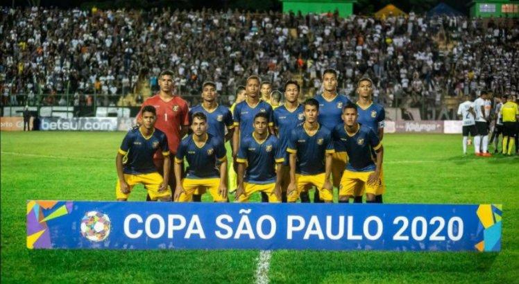 O Retrô foi eliminado na primeira fase da Copa São Paulo.