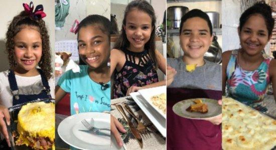Mini Chef visita cozinhas de participantes na estreia da temporada 2020