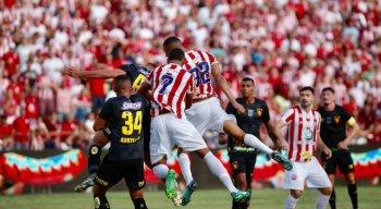 Náutico e Sport empataram na estreia do Campeonato Pernambucano.