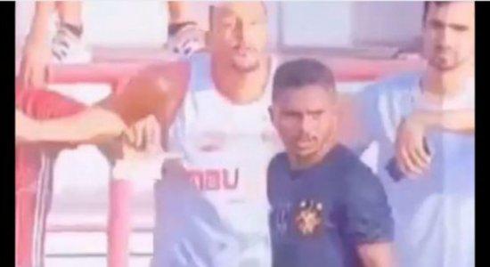Torcida do Sport se revolta nas redes sociais contra torcedor que teria cuspido contra Pardal