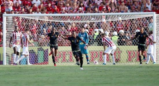 Jogadores exaltam força da base do Sport após empate contra o Náutico