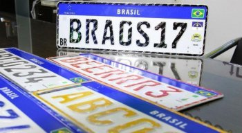 Placa no modelo Mercosul será obrigatória a partir de 31 de janeiro