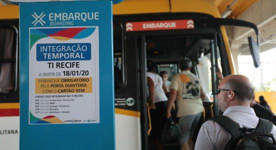Terminal Integrado do Recife tem mudanças no embarque de passageiros