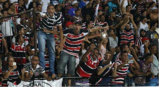 Torcida do Santa Cruz relembra título de 2016 da Copa do Nordeste; assista