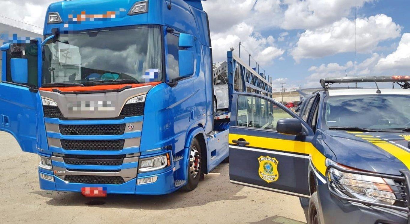 Caminhoneiro é detido com 150 comprimidos de rebite em Pernambuco