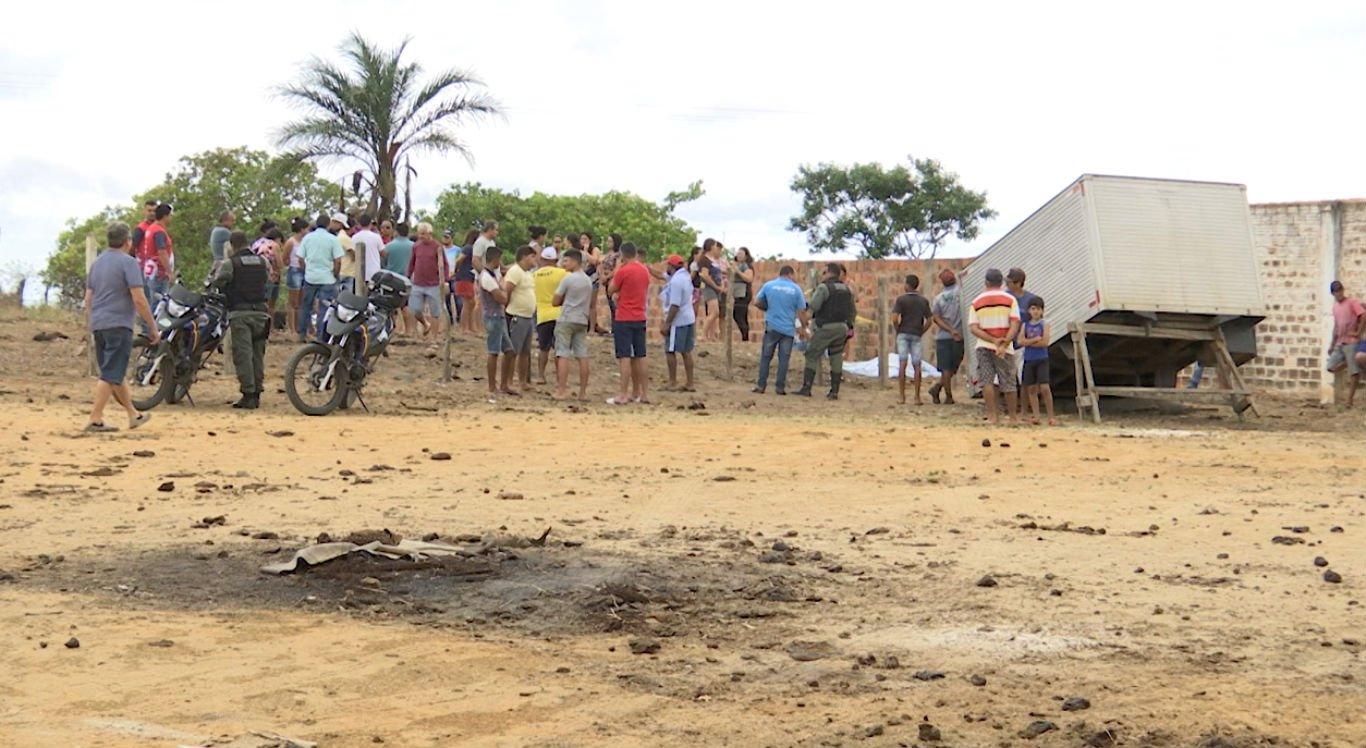 Homem foi assassinado próximo à Vila Vitorino, em Riacho das Almas