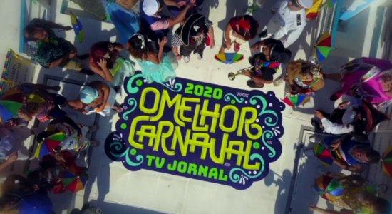 O Melhor Carnaval: confira a animação do clipe da TV Jornal