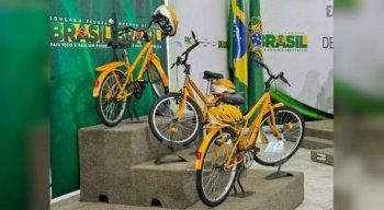 A bicicleta estará disponível em dois tamanhos, o aro 20 e o aro 26