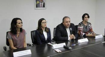 Secretaria Estadual de Saúde divulgou resultado em coletiva de imprensa